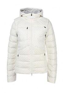 Women's NIKE 550 Duck Down Jacket - Size Medium - 616274-121 - White - BNWT