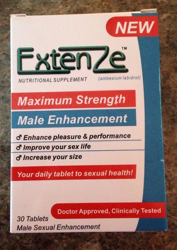 Extenze Bottle