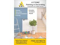 Your local painting and decorations free estimate