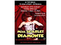 Miss Scarlet Diamonte LIVE @ Top Break Peterhead