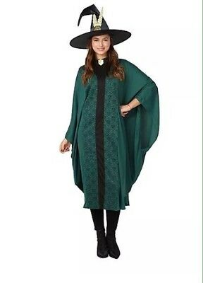 Adult Harry Potter Professor McGonagall Fancy Dress Costume New