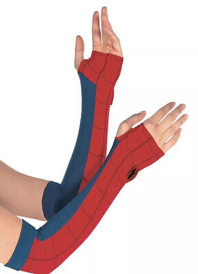 Spider-Girl Arm Warmers Spiderman NEW In Package!