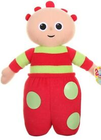 In the Night Garden Talking Tombliboo Unn Soft Toy - for sale, £5