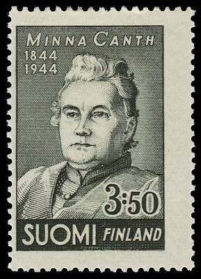 """FINLAND 244 (Mi282) - Minna Canth """"Author and Playwright"""" (pf75458)"""