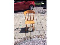 4 wooden chair