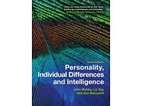 TEXTBOOK* Personality, Individual differences And Intelligence 2nd Edition