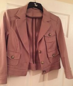 Size 10 jacket brown