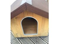 Ferplast Doggie Kennel* Wood* Outdoor* Air Vent