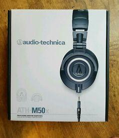 Audio technica ATH- M50x Headphones