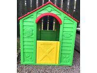 *** Plastic playhouse ***