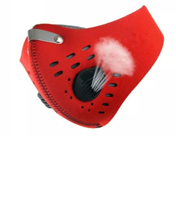New Red Color Pollution prevention  motorcycle bike cyclings air filter pollen