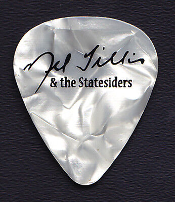 Mel Tillis & The Statesiders Mel Tillis Signature White Pearl Tour Guitar Pick