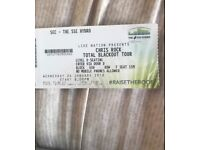 Selling one ticket to Chris Rock in Glasgow at the Hydro Wednesday 24th January