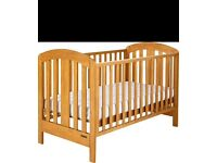 Mamas and papas cot bed