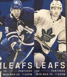 Maple Leafs vs Florida Panthers