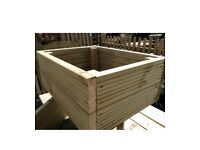 PREMIUM DECK BOARD RAISED BEDS - made to order!