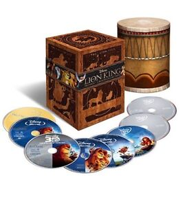 The Lion King Trilogy Bluray Collector Set