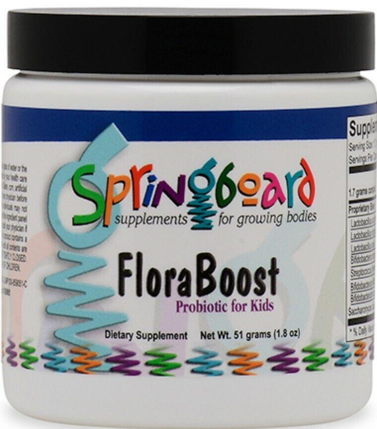 ORTHO MOLECULAR FLORA BOOST PROBIOTIC FOR KIDS POWDER SHIPS FAST (30 servings)