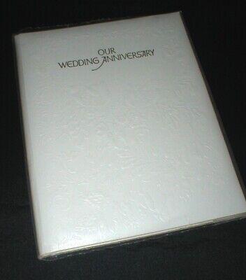 Our Wedding Anniversary Keepsake Album - American Greetings