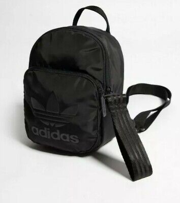 Adidas Originals Black mini backpack DV0212 Extra Small Backpack One Size