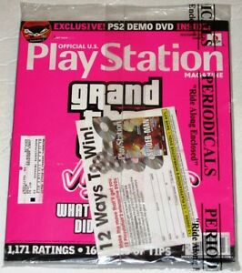 Official U.S. Playstation Magazine # 62 Nov. 2002 - Sealed, Never Opened