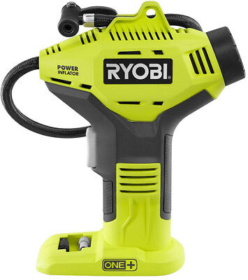 Ryobi 18V Cordless Portable Air Compressor Tire Inflator Handheld Bike Tyre Pump