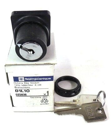 Telemecanique Rotary Key Switch D1l10 New In Box