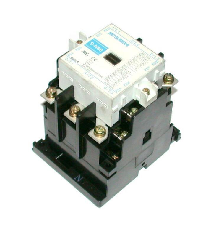 Mitsubishi  JEM 1038 S-N80  3-Pole Contactor 200-240 VAC COIL 135 AMP 600 VAC