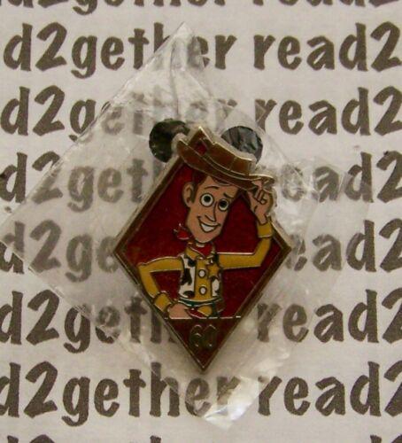 Disney Pin DLR 60th Diamond Celebration Mystery Pin Pack Woody