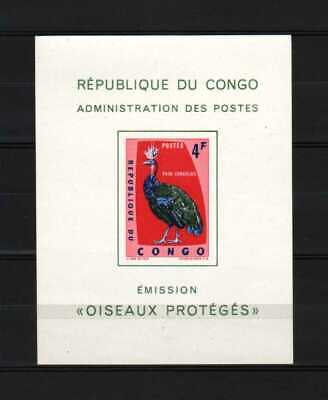 Belgisch Congo Belge Rep. Congo n° LX488 MNH Luxary Min. Sheet Birds c45.00Eu