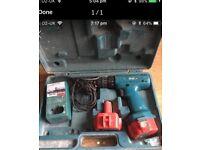 2 markita 12 v cordless drills for parts are repair