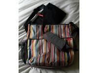 Skip hop change bag and mat