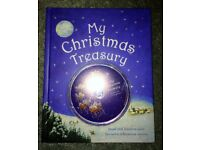 My Treasury of Christmas Stories by Parragon (Hardback, 2006) Book & Audio CD NEW