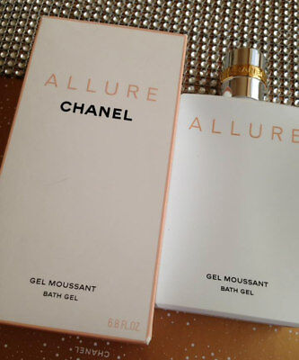 Chanel Gel Parfüm (BOXED HUGE 200ml CHANEL ALLURE PARFUM BATH&SHOWER GEL DISCONTINUED)
