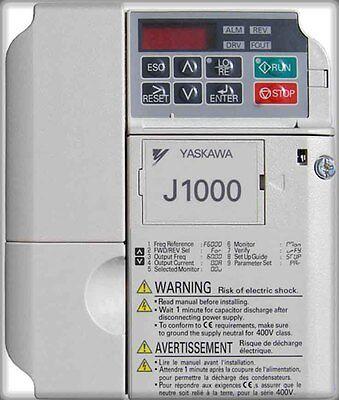 Yaskawa J1000 Yaskawa Ac Drive Cimr-ju4a0009baa 9amp 5 Hp Drive New Stock
