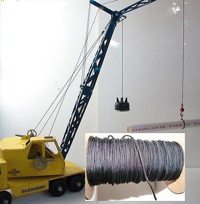 Nylint Michigan crane construction water slide decal set in Blue