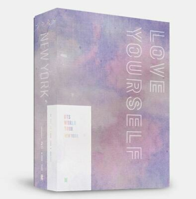 "K-POP BTS WORLD TOUR ""LOVE YOURSELF"" NEWYORK DVD - 2 DISC / Free Tracking Num"