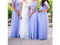 Bridesmaid dresses, lavender colour