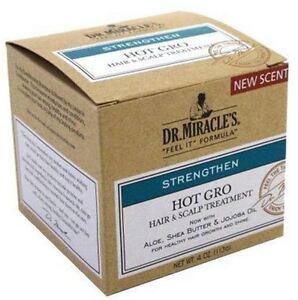 Dr. Miracle's Strengthen Hot Hair - Scalp Treatment, 4 oz