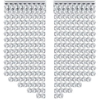Swarovski 5289716 Fit Wide Pierced Earrings Size 3.5x1.5cm RRP $129
