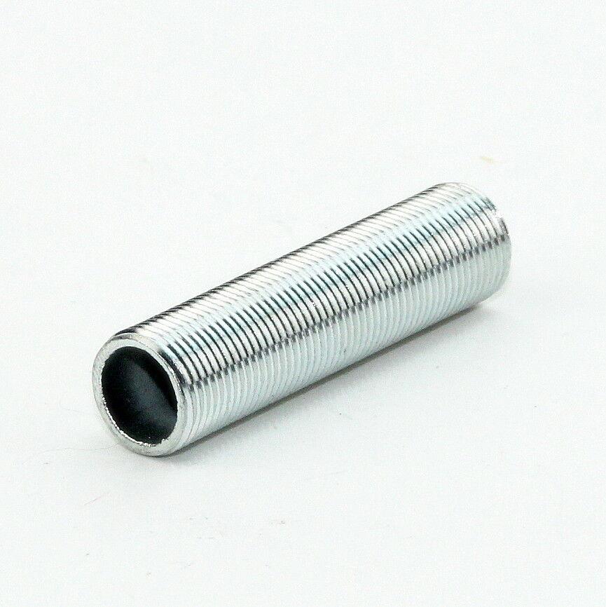 1//5 Stück Gewinderohr M13x1 blau verzinkt 15-50 mm 1,5mm Lampenrohr Leuchtenrohr