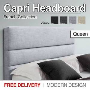 BRAND NEW - Queen MULTIPLE COLOURS Fabric Headboard