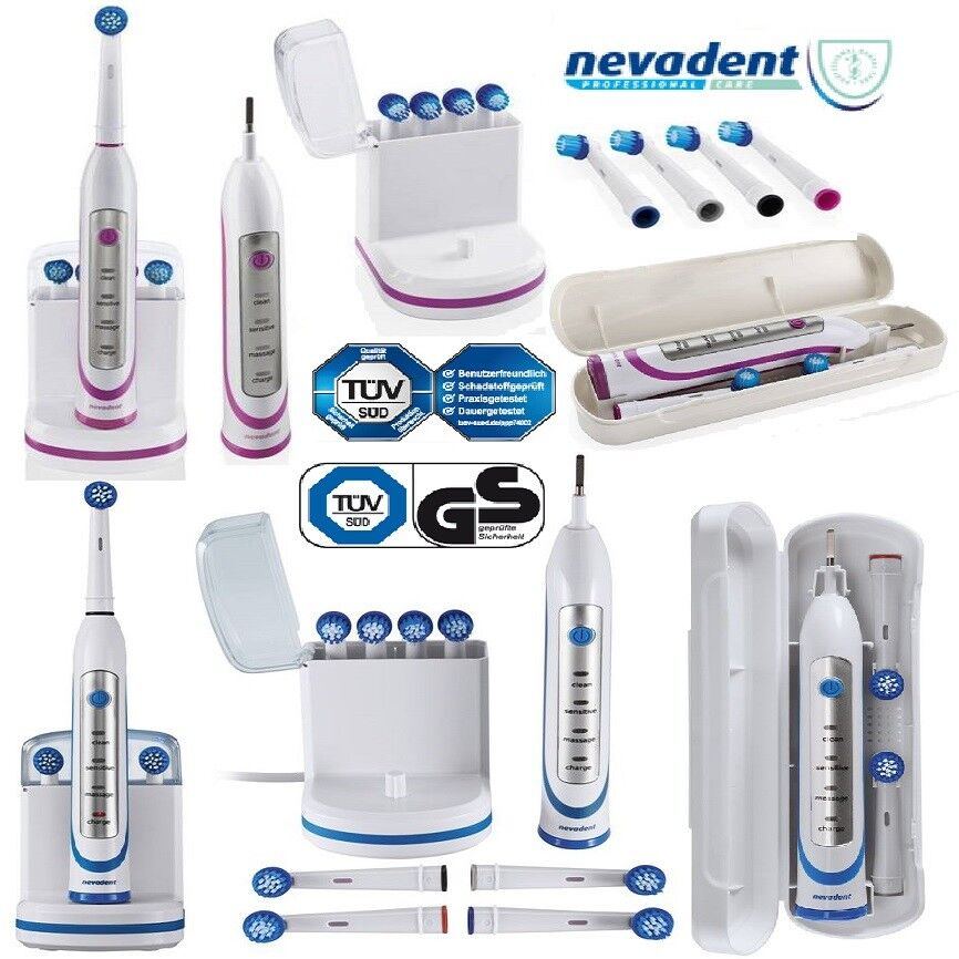 NEVADENT Elektrische Zahnbürste NAZ 3.7 A1 Zähne Zahn Pflege Bürste Neu OVP