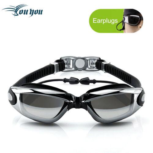 Non-Fogging Anti UV Swimming Swim Goggle Glasses For Men Women Boys Girls