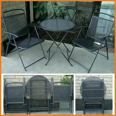Patio Table Set and Chairs Outdoor Furniture Wrought Iron CA