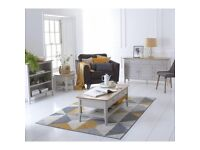 New Scandinavian Dove Grey & Oak tables TV units Cupboards Sideboards bookcases from £99-£499