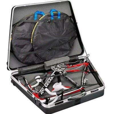 B&W Black One Size hard case travel bike box - used once
