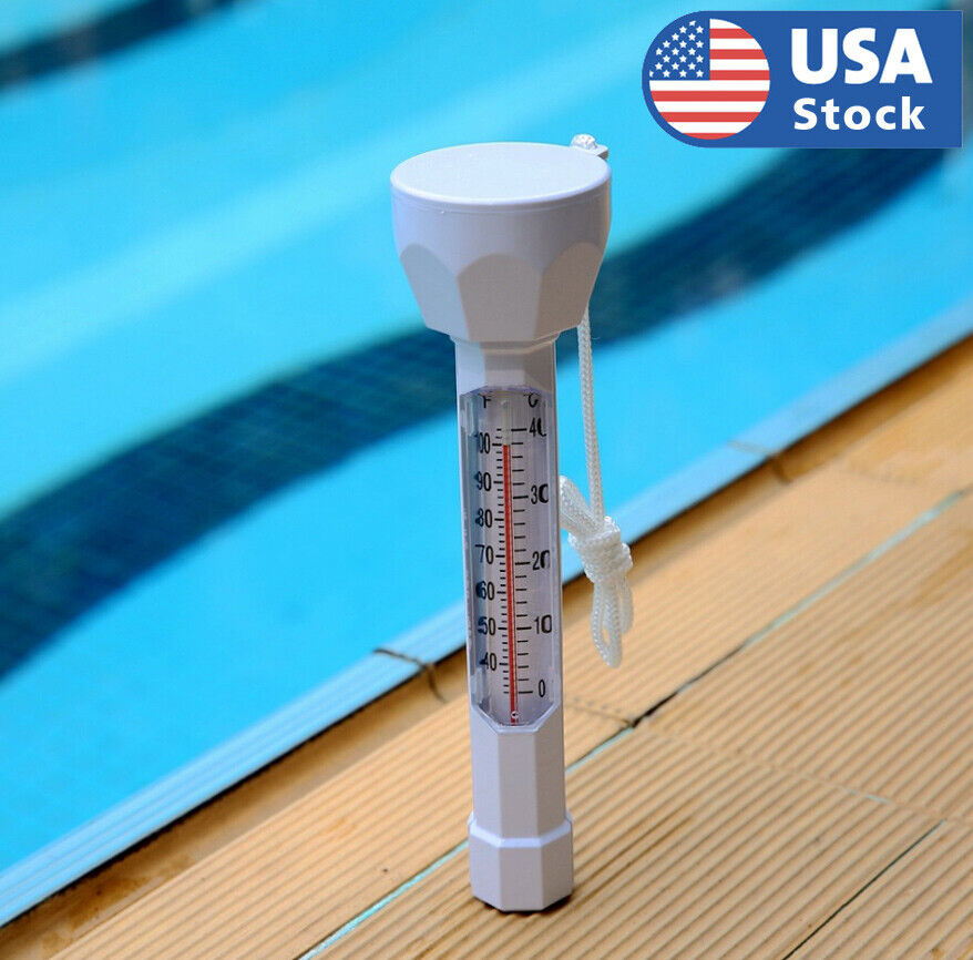 Swimming Pool Water Temp Meter Floating Thermometer Temperature Gauge Tester Home & Garden