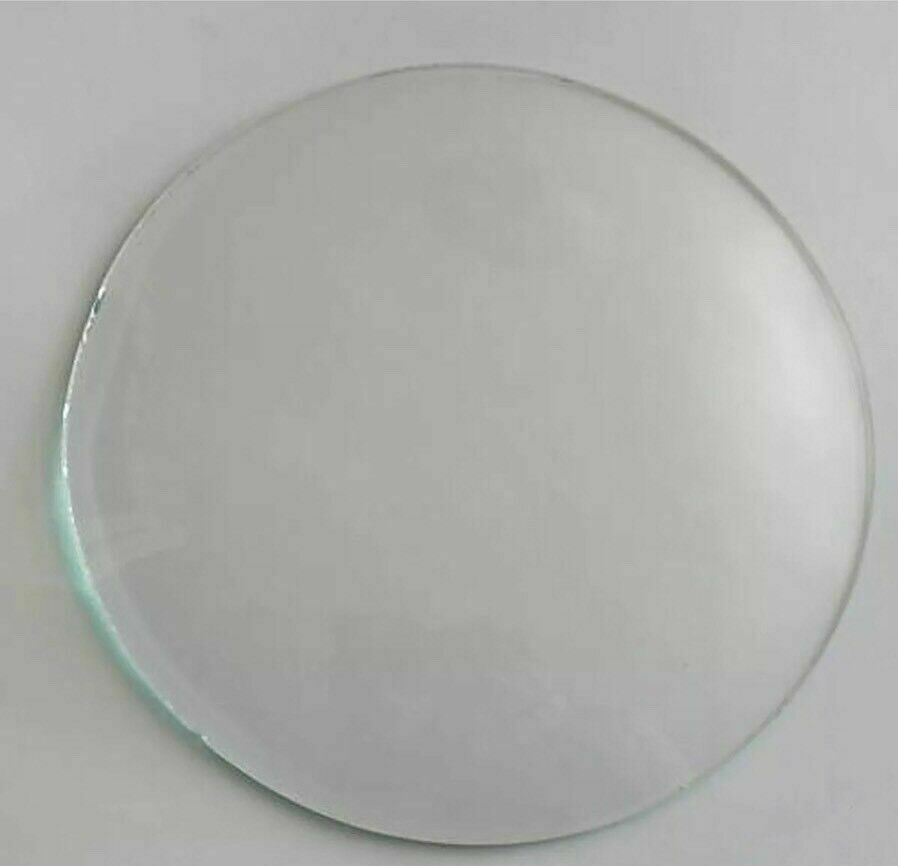 round replacement domed convex glass clock barometer