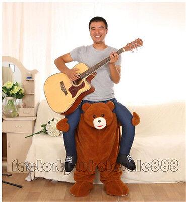 Halloween Ride OnTeddy Bear Maskottchen Kostüm Hirsch Outfit - Hirsch Kostüm Halloween